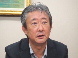 株式会社三輝の新川幸也社長