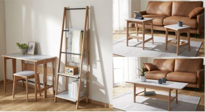 ビームスと共同企画したニトリの家具