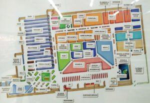 ディスカウントストアのターゲット(Target)の売場変更した店舗の例