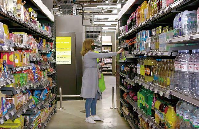 アマゾンUKのレジなし店舗「アマゾン・フレッシュ」
