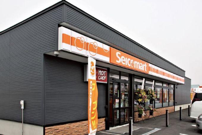 21年3月に移転オープンした「セイコーマート苫小牧沼ノ端TS店」