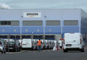 マンハイムのアマゾン物流センター