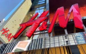 ニューヨークのH&M店舗