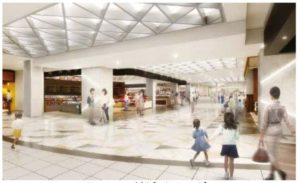ジェイアール東海高島屋「ジェイアール名古屋タカシマヤ フードメゾン岡崎店」出入口付近のイメージ