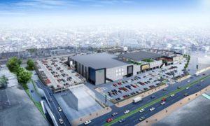 大和ハウス工業が開発中の大型商業施設「iias(イーアス)春日井」完成イメージ