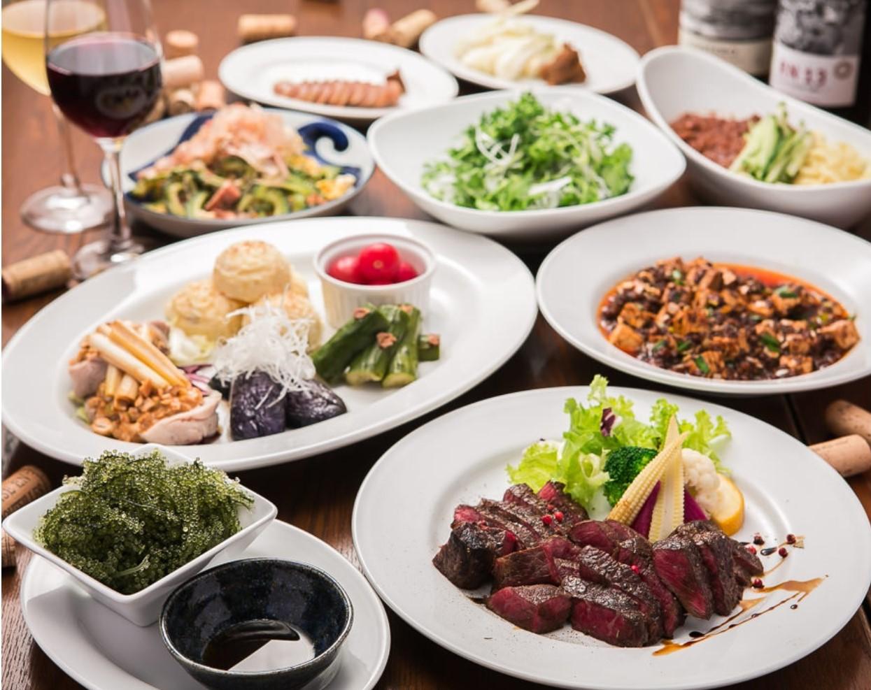 「沖縄」のエッセンスを盛り込んだ中華料理が楽しめる
