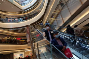 中国北京のショッピングモール
