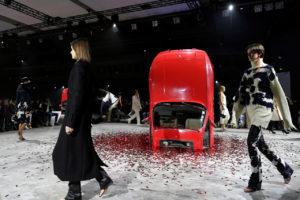 2020年2月に行われた、パリのファッションウィーク