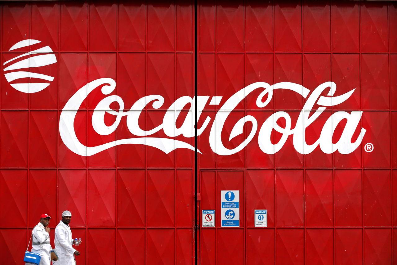 米コカ・コーラのロゴ