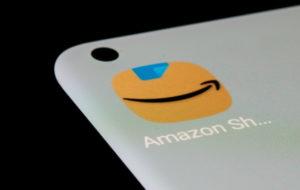 米アマゾンのアプリのロゴ