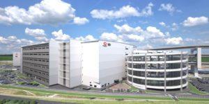 イトーヨーカ堂が運営するネットスーパーの専用の大型配送センター「イトーヨーカドーネットスーパー新横浜センター(仮)」完成イメージ