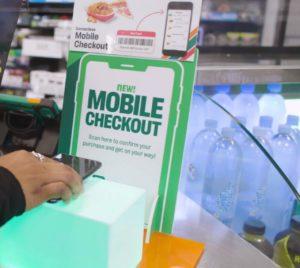 米7-イレブンに導入されるスマホを使用した決済サービス「モバイル チェックアウト」