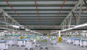 オカドのECのフルフィルメント施設