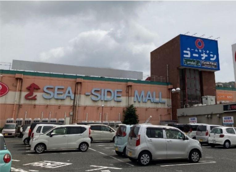 コーナン「笠岡シーサイドモール店」の外観