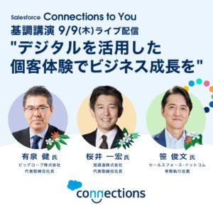 個客体験の変革でビジネスを成長に導く戦略とはConnections to You画像