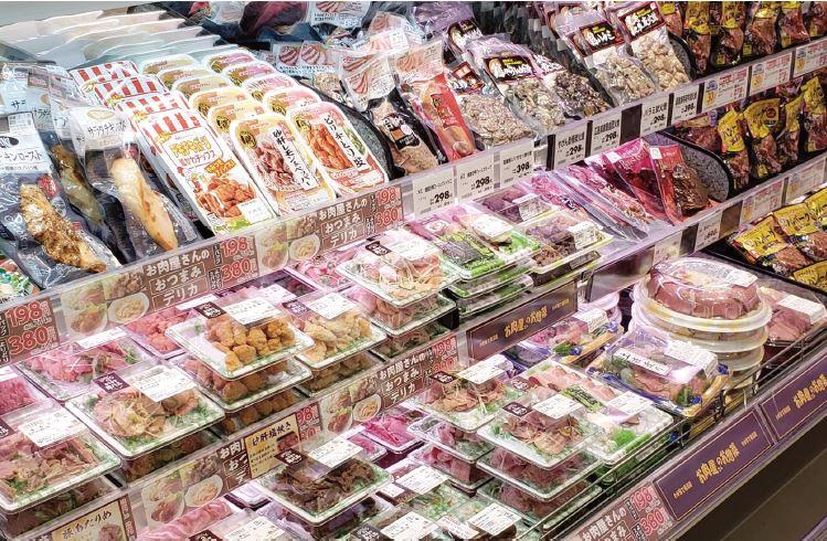 フレスタの総菜売場