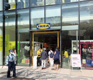 東京・原宿に出店したしたイケアの都市型小型店