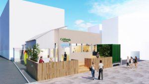 ユナイテッドアローズの新店舗「California General store」の完成イメージ