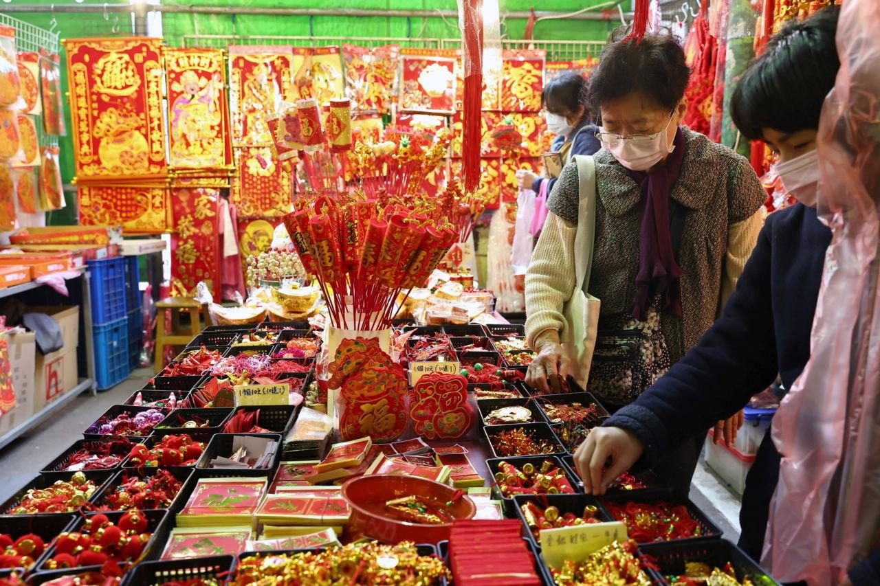 台湾の台北の小売店