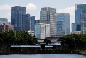 東京丸の内のビジネス街