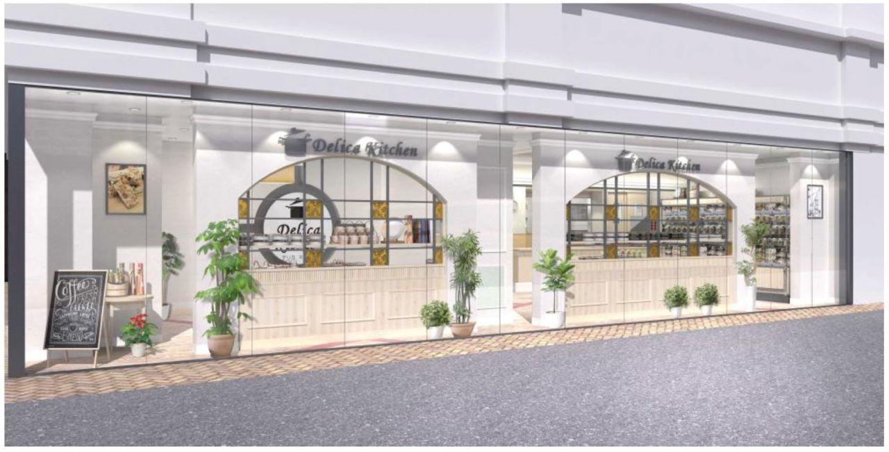 バローHDの総菜専門店「デリカキッチン笹島店」の完成イメージ