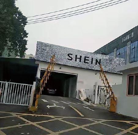中国の地図アプリ「高徳」で確認できた、広東省・番禺(パンユー)にあるSheinの工場