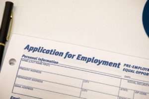 米の雇用申請書