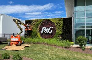 米P&Gのロゴ