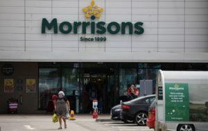 英国のニューブライトンにあるモリソンズの店舗