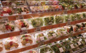 多様な野菜、トッピングやドレッシングをセットにした商品を展開/ヤオコー天王台店