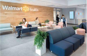ウォルマート・ヘルスセンターの待合室